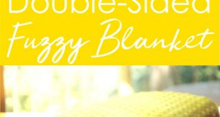 Easy Double-Sided Fuzzy Blanket
