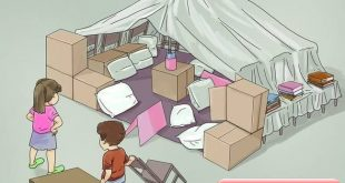 Create a cozy escape (and save on heating) with a grown-up blanket fort