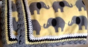Crochet Fleece Blankets