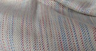 Throw Blanket, Merino Wool & Silk Bed Throw, Sofa Throw, Hand Woven Blanket