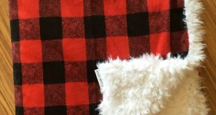 buffalo check minky blanket, gender neutral nursery, woodland nursery, blanket, ...