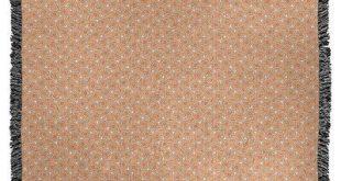 ArtVerse Katelyn Elizabeth Hexagonal Lattice Woven Blanket