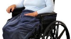 Granny Jo Wheelchair Lap Blanket :: cozy fleece blanket