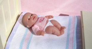 Hand Woven Baby Doll Blanket White Small Doll Blanket Handwoven White Doll Blank...