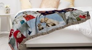 One Medium or Large Custom Mink Blanket, or One or Two Medium, Large or XL Custom Woven Blankets (Up to 89% Off)