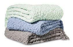 Fuzzy Blanket Throw Blanket - Threshold™