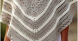 35+ Amazing Picture of Free Poncho Crochet Patterns