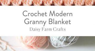 Alle Srticken : Free Pattern - Häkeln Sie moderne Oma Decke #decke #hakeln #mo...