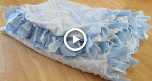 DIY: Baby Blanket (No Sew) 2019 DIY: Baby Blanket (No Sew) The post DIY: Baby...