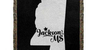 East Urban Home Jackson Mississippi Woven Cotton Throw