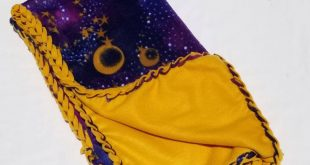 Galaxy Fleece Blanket, No Sew Blanket, No Sew Fleece Kit, Fleece, Baby Blanket, Galaxy blanket, Stars, Sun, Moon, Personalize, Embroider