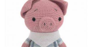 Häkelanleitung für ein süßes Schweinchen
