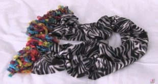 No Sew Fleece Scarves to Keep Your Girls Chic This Winter 2019 DIY No Sew Flee ...