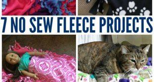 7 No Sew Fleece Projects
