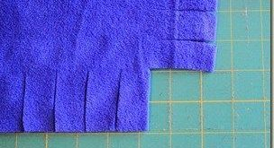 Tuesday Tutorials  No Sew Fleece Blanket Edging (Without Tying Knots!)  2019  Tu...
