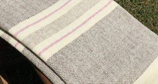 Hand Woven Merino Wool Blanket  2019  Hand Woven Merino Wool Blanket  The post H...