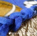 23 Ideas crochet edging fringe no sew fleece blanket  2019  23 Ideas crochet edg...