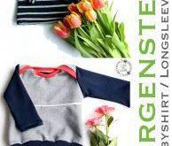 """Babyoberteil """"Morgenstern"""" Gr.62-80 - Babyshirt nähen - Freebook"""