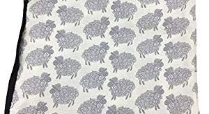Bambino Land Big Bambino Bamboo Double Layer Muslin Blanket - Sheep