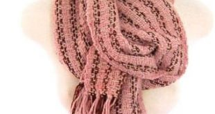 Blush Pink and Brown Oversized Wool Wrap Large Chunky Scarf Handwoven Shawl Uniq...