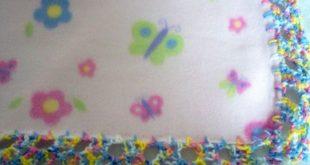 BootieBabies: Free Crochet Pattern: Frilly Baby Blanket Edging  2019  BootieBabi...