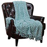 Chanasya Super Soft Beautiful Elegant Decorative Woven Popcorn Texture Couch Bed...