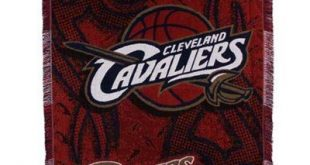 Cleveland Cavaliers 48'' x 60'' Navy Blue Tattoo Jacquard Woven Blanket Throw