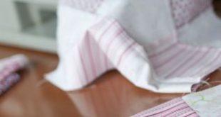 DIY: Nähanleitung für eine kuschelweiche Babydecke. Ein schönes Geschenk für werdende Mütter!