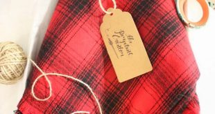 DIY Plaid Flannel Blanket Scarves – the perpetual creator