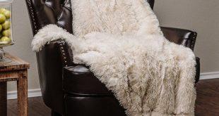 Dedrick Shaggy Super Elegent Sherpa Long Fur Throw