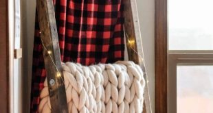 Easy DIY Blanket Ladder for under $15! (Step-By-Step Guide)