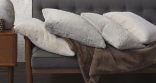 Fur Decorative Pillows | Luxury home textiles by Studio 773 for Eastern Accents ...