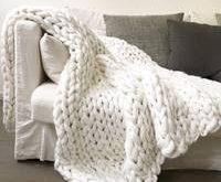 Handmade Chunky Knit Blanket 2019 The post Handmade Chunky Knit Blanket 2019 ...