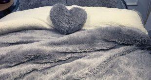 Hot-sale 4Pcs Coral Fleece Shearling Bedding Set Quilt Cover Bed Sheet Warm Mink...