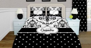 If you are trying to decide an bedding that they can grow into this Black and Wh...