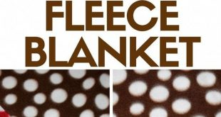 Make a tied fleece blanket that is perfect to snuggle and keep you warm. An easy...
