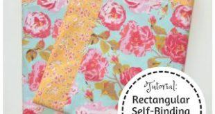 My Fabric Obsession: Rectangular Self-Binding Flannel Blanket Tutorial for Luke&...