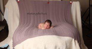 Neugeborene Fotografie: So erreichen Sie die Decke, die in der Kamera eingeblend...