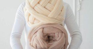 Riesen Wollegarn stricken Wolle sperrige Wolle Garn dickes
