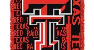 "Texas Tech Red Raiders NCAA Double Play 46""x 60"" Triple Woven Jacquard Throw"