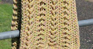 Textured Chevrons Blanket pattern by Shannon Kilmartin/The Hookeraholic Crochet