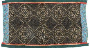 Vintage Muong Textile Blanket from Vietnam | 59 x 33 2019 Vintage Muong Textil...