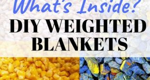 Weighed Blankets: What's inside? Part 2