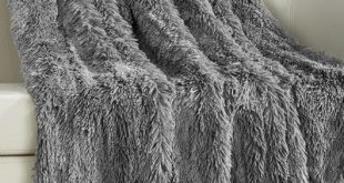 Willa Arlo Interiors Kostya Shaggy Faux Fur Supersoft Ultra Plush Decorative Throw