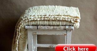 Wool #blanket #chunky #blanket #knitted #blanket #bedroom