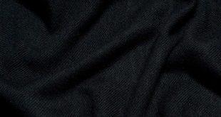 Woven Blanket Scarf In Black