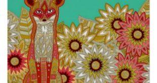 garden fox poster | Zazzle.com
